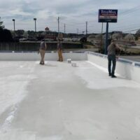 Commercial roof waterproofing by The Waterproof Group