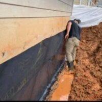 exterior basement waterprooofing by The Waterproof Group